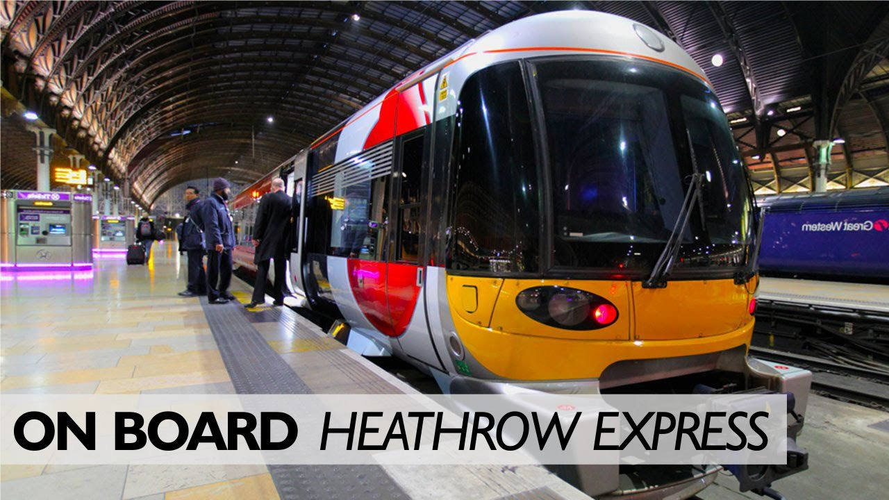 Heathrow Express: Secret Platforms And The View From The ...