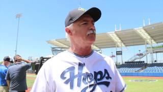 Hillsboro Hops pitching coach Doug Drabek