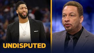 Chris Broussard believes AD will join LeBron & the Lakers: 'It's going to happen' | NBA | UNDISPUTED