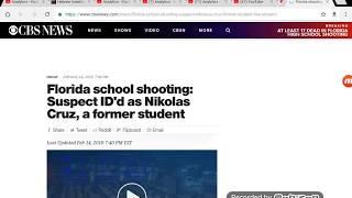 Nikolas Cruz Is Identified As The Parkland Florida High School Shooter