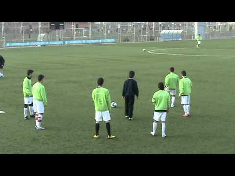 Entrenamientos en el Alcobendas Club de Fútbol