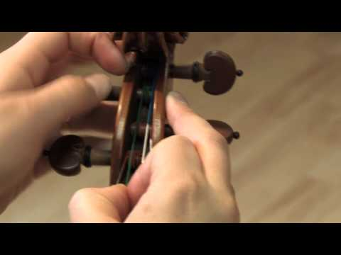 Changing A Violin String video