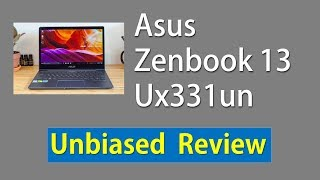 Asus Zenbook 13 Ux331un Review 2019
