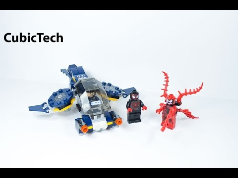 Lego Super Heroes 76036 Carnage's SHIELD Sky Attack - Lego Speed Build