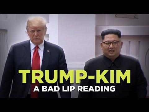 """""""TRUMP-KIM SUMMIT"""" — A Bad Lip Reading"""
