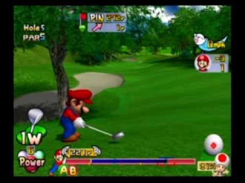 Mario Golf Toadstool Tour - Lakitu Cup as Mario Part 1