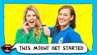 FLOSSING EACH OTHER with Grace Helbig & Mamrie Hart