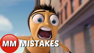 Bee MOVIE MISTAKES You Didn't See the First Time | Bee MOVIE MISTAKES