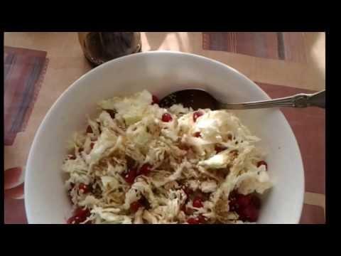 Как приготовить пекинскую капусту - видео