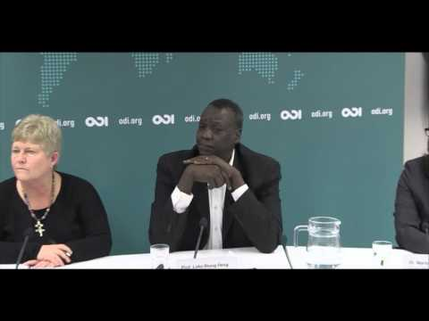 South Sudan: the path for peace - Panel Discussion