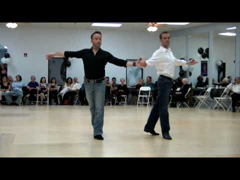 Christian Wasinger And Russell Knight Tango Cha-cha video
