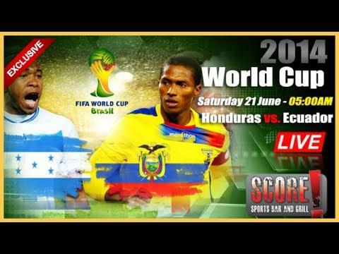 My Reviw Honduras vs Ecuador 1 2 2014   Goals and highlights analysis   World Cup Brazil 2014 game g