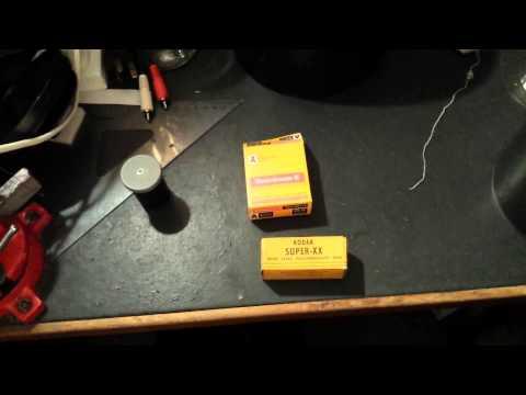 Developing expired Kodak 8mm movie & 120 type photo films (Part 1)