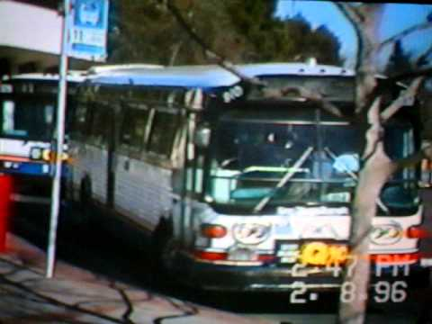 Gmc San Diego >> Old San Diego Transit Buses In Service (1) - YouTube