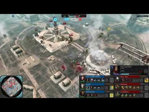 Dawn of War 2 — 3v3 | SWAT + baxter456 + deltakyklos [vs] Sneery_Thug + SuperHooper + CreamySurprise