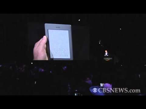 Amazon announces Kindle Touch