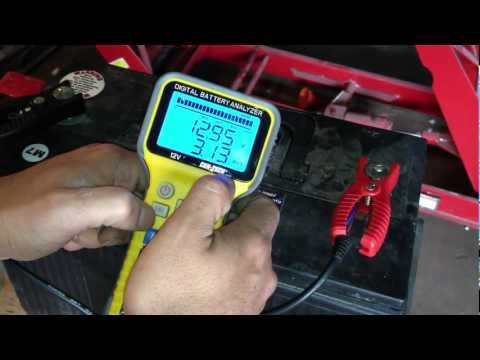 Lead Acid Battery Desulfation Using Epsom Salt  -- First Test. Adding Solution   Part 1 of 6