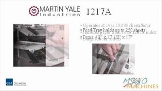 Martin Yale 1217A Medium Duty AutoFolder - Video Tour