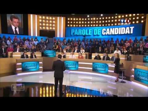 Nicolas Sarkozy invité de parole de candidat