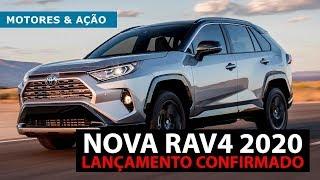 RAV4 2019  Toyota   Lançamento   SUV   4WD   motoreseacao