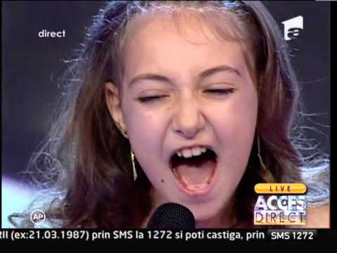 Elena Hasna A Interpretat Live Melodia Lui Celine Dion - i Surrender video