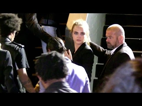 EXCLUSIVE: Cara Delevingne and girlfriend St Vincent go to the Gotha Club in Cannes