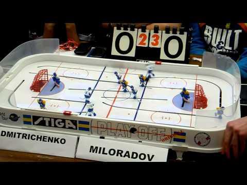 Table Hockey. Настольный хоккей. Moscow Open 2013. Dmitrichenko-Miloradov. Final. Game 6