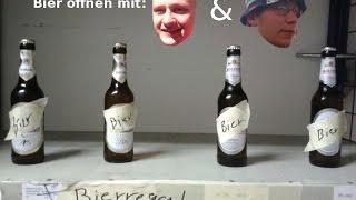 Folge 11 - Bier öffnen mit Tom und Niclas - Winkelschleifer u. Schrauber