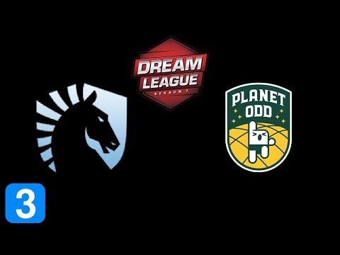 Liquid vs Planet Odd Game 3  DreamLeague season 7 Highlights Dota 2