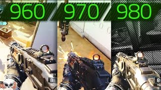 CALL OF DUTY BLACK OPS 3 GTX 960 vs GTX 970 vs GTX 980