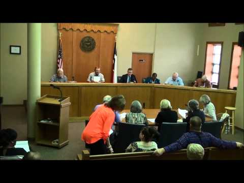 Titus County Texas Commissioners' Court held May 11, 2015