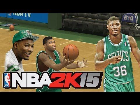 NBA 2K15 MARCUS SMART ROOKIE PREVIEW! Modded NBA 2K14 Gameplay