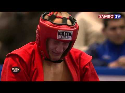 2012 Sambo Combat Worlds Final : Grecicho  vs Javadov