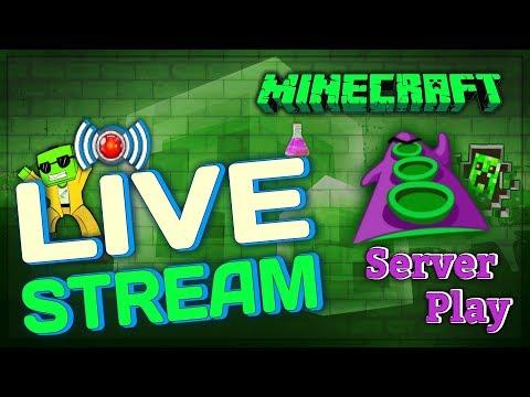 "★ ► Redled`s Live Retro Minecraft Technik Gerödel, ""Nachtgerödel auf dem Server""! [Livestream] ◄ ★"
