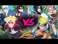 Team 7 Vs Deidara And Sasori  Full Fight English Sub Hd