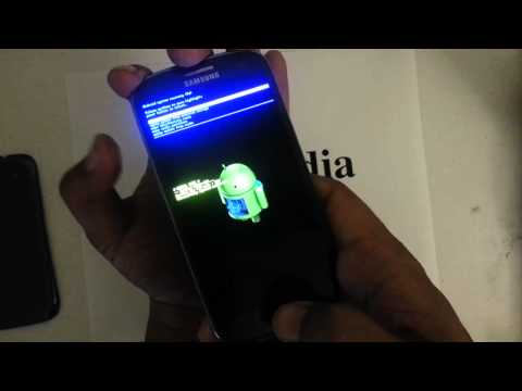 How to Factory Restore Hard Reset or Password Wipe the Galaxy S III 4G Sprint