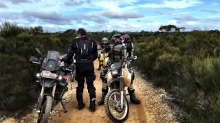 Holland Track (Western Australia) and adjacent sites on Adventure Bikes