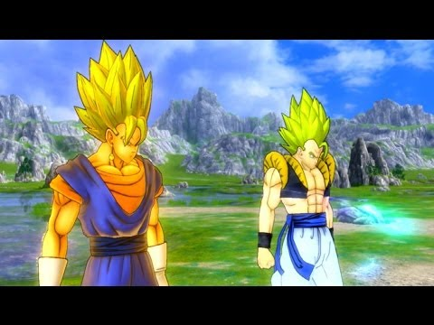 Dragonball Z Ultimate Tenkaichi - Modded Story Mode - Saiyan Saga Part 1