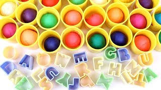 Play Doh ABC | Alphabets For Kids | Learn ABC | Kids Learning Video | ABC Song | Kindergarten Videos