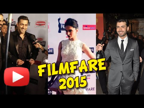 Salman Khan, Deepika Padukone, Fawad Khan | Filmfare Awards 2015