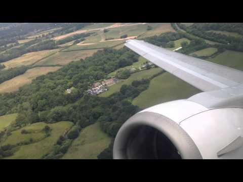 Air Explore Boeing 737-400 take off Manchester // MAN-DUB