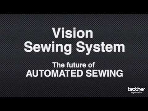 Simplify the sewing process with the Brother Vision Camera System