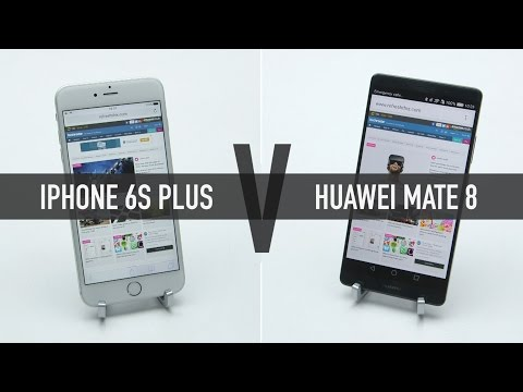 Huawei Mate 8 Test: Will The IPhone 6S Plus Be Beaten By A Chinese Rival 2 3 Its Price?