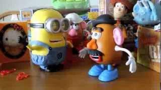 minion dave collector's edition meets mr potato head