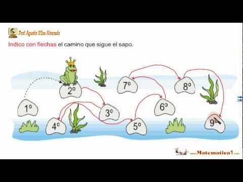 Numeros ordinales para ni os de 6 a os youtube - Actividades para ninos pequenos ...