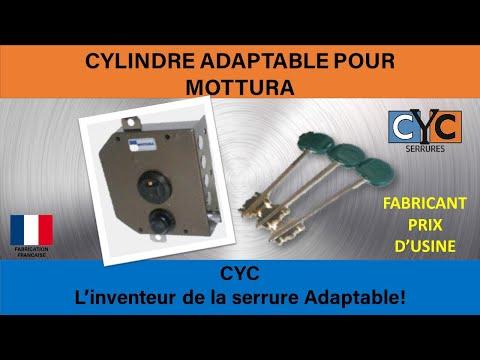 Vachette serrure, clef et cylindre disponibles