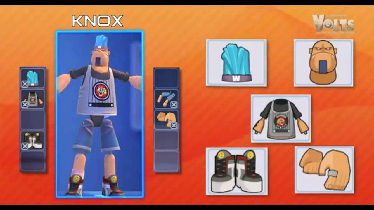 Knox Character Microvolts Knox Character