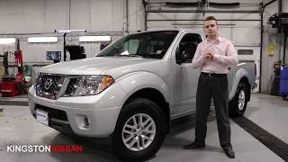The 2019 Nissan Frontier at Kingston Nissan!