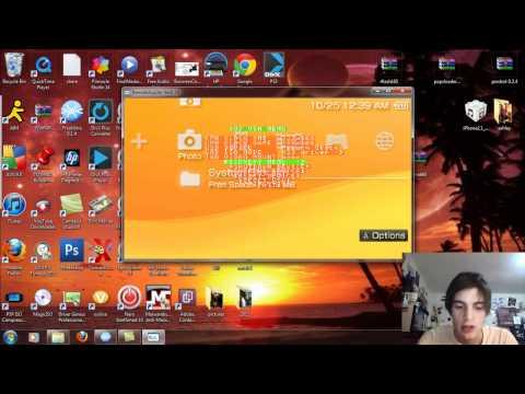 Custom Themes on PSP Custom Firmware/Light CFW 6.60 Download