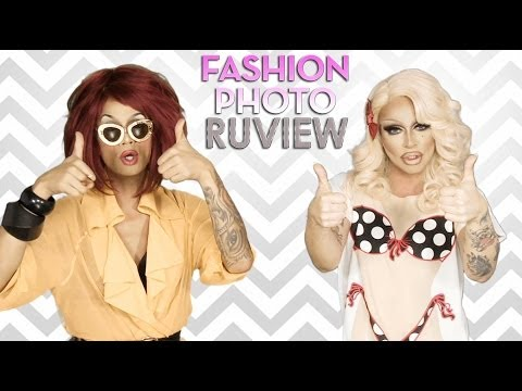 RuPaul's Drag Race Fashion Photo RuView with Raja and Raven - Episode 7